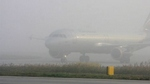 Сегодня утром аэропорт Ларнаки приостановил работу из-за сильного тумана