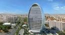 Здание-овал на Кипре