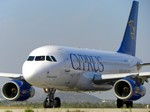 Лайнер Аэробус А319-100 авиакомпании Cyprus Airways