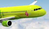 Авиалайнер а/к S7 Airlines