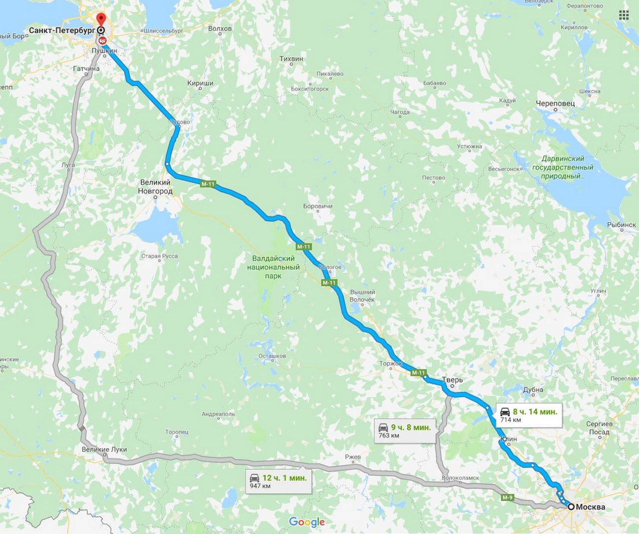 карта москвы как доехать от и до